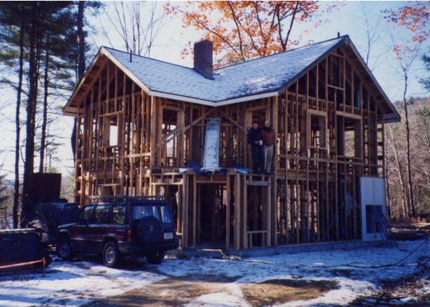 Larsen Truss Superinsulated Home Construction