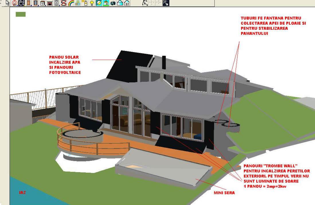 cristian u0027s earth sheltered passive solar home in romania