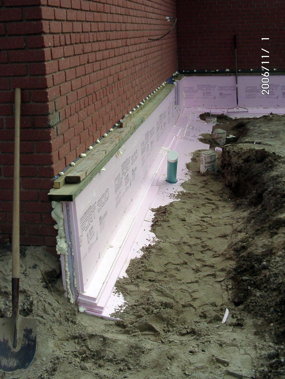 Foundation Work Schoolhouse Energy Retrofit