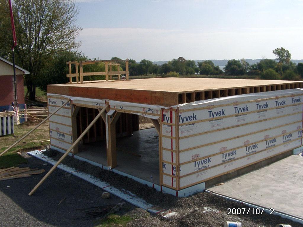 Pics Photos - Garage Framing Build