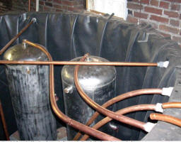 Thermal Storage Tank With Heat Exchanger