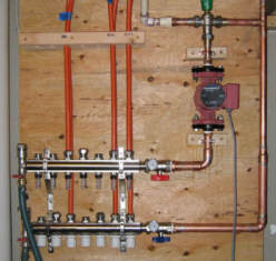 Solar Space Water Heating Radiant Floor Design - How to do radiant floor heating