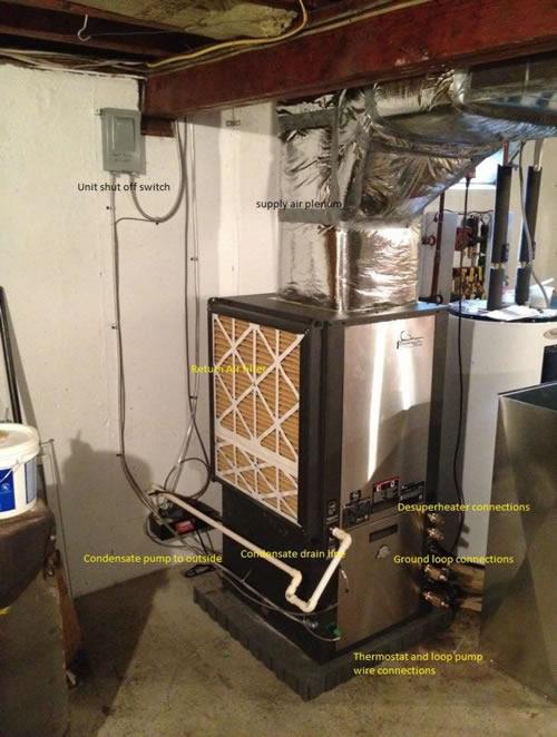 Diy Geothermal Heat Pump Pv System No Heat Bills