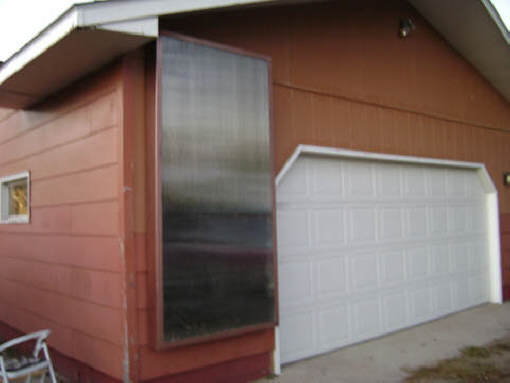 Ken S Diy Solar Air Heating Collector Aluminum Soffit