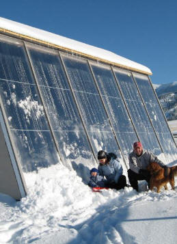 Solar Space Heating Active And Passive Solar Projects
