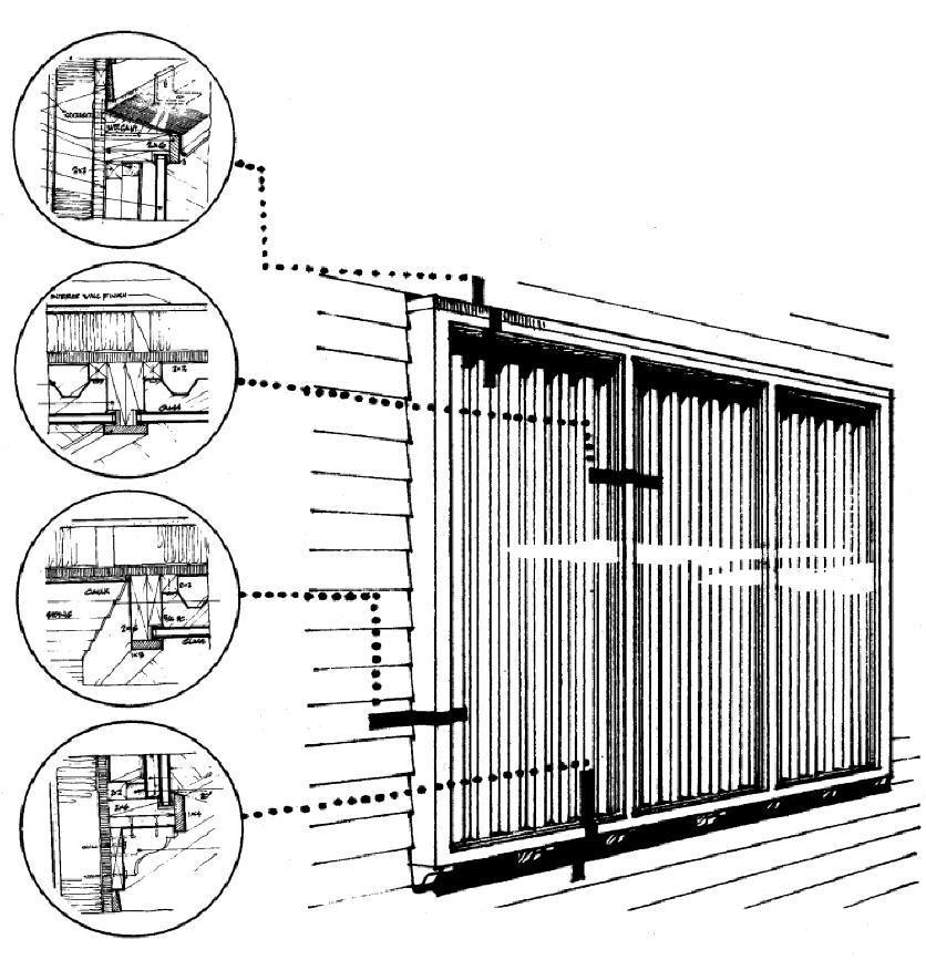 Solar Chimney Thermosyphoning Solar Air Collector