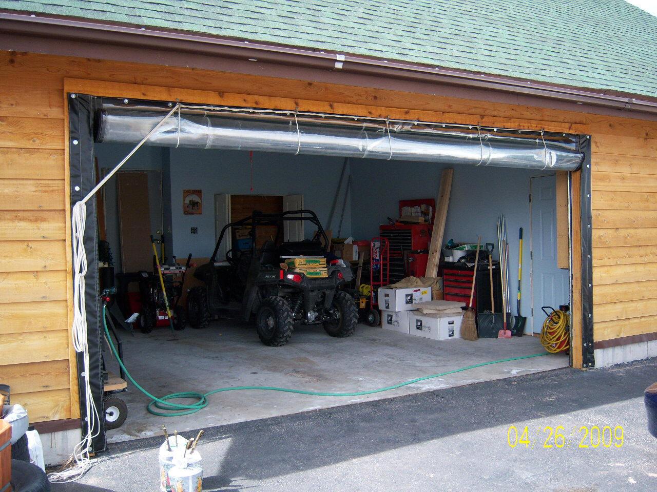 Plastic Garage Curtains