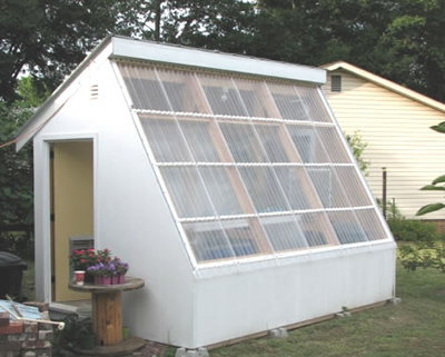 Storing Excess Daytime Solar Energy To Heat Greenhouse At