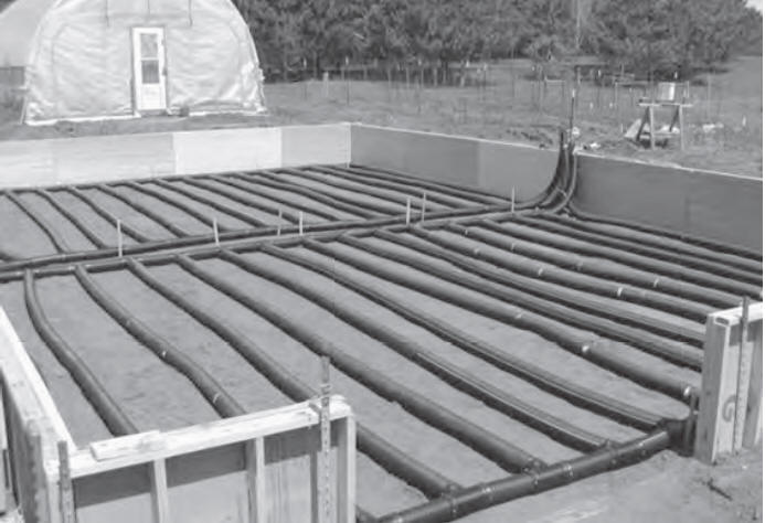 Heating Greenhouse Soil With Solar Air Heaters And