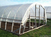 PVC Hoop House Plans - Greenhouse Gardening. As Easy as 1-2-3!!