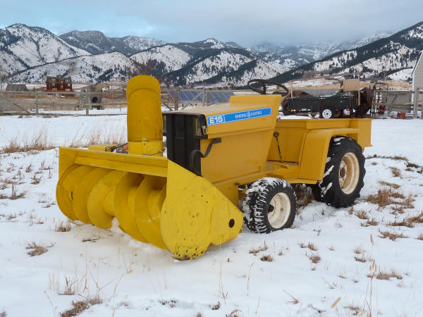 The Elec Trak E15 Electric Tractor And Pv System