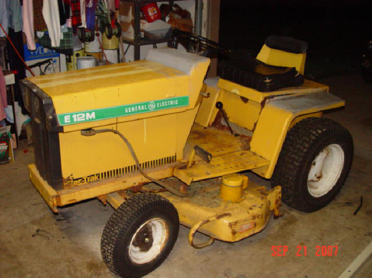 The Elec Trak Electric Tractor
