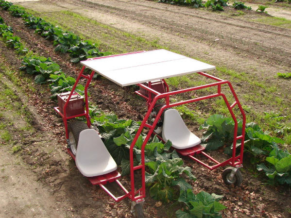 DIY Food Resilience:  Turning a Wheelchair in a P-Machine