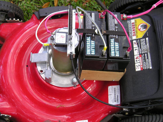 I built a  dashboard  for the switches and gauges and mounted it about 3/4 of the way up the mower handlebars. On it I mounted a 15 VDC analog voltmeter ... : electric lawn mower wiring diagram - yogabreezes.com