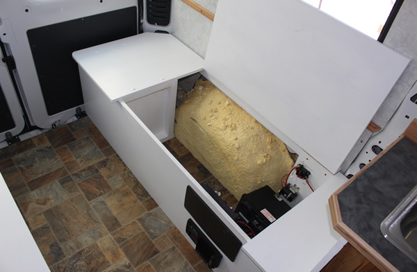 Promaster Camper Van Conversion Furniture