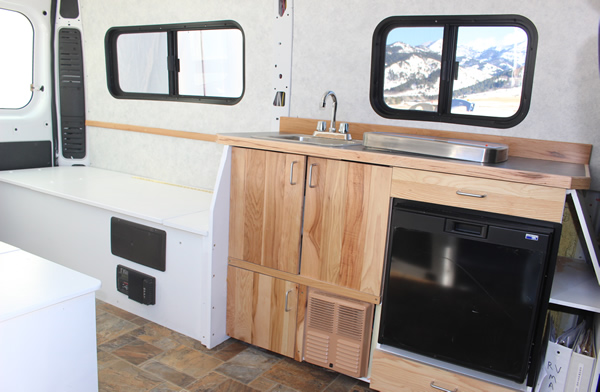 Promaster Camper Van Conversion Furniture