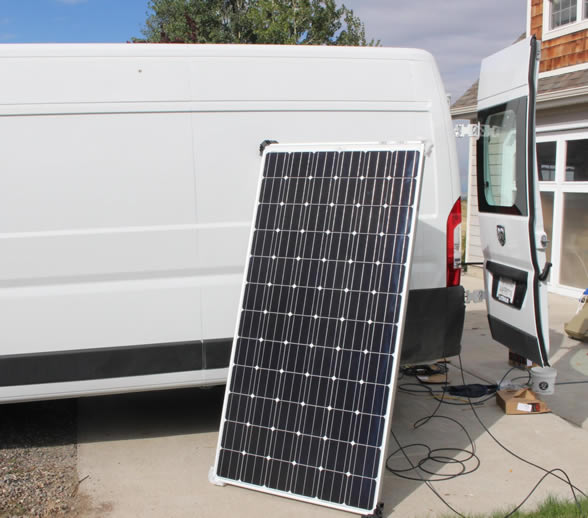 PV panel for RV