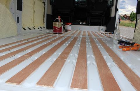 Promaster Diy Camper Van Conversion Floor
