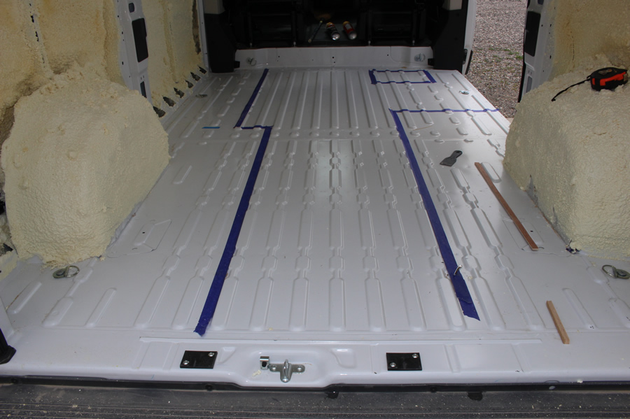The Way Everything Is Bonded Together With Foam Polyurethane Steel Floor Insulation And Thin Plywood Act As A Single Unit Finished