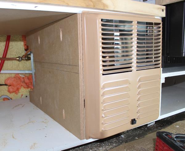 ProMaster DIY Camper Van Conversion Furnace Installation