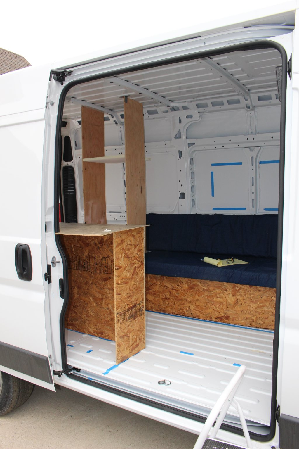 Dodge Promaster Camper Update Upcoming Cars 2020 Convertible Tops Wiring Diagram Of 1961 63 Ford Thunderbird Diy Van Conversion Layout