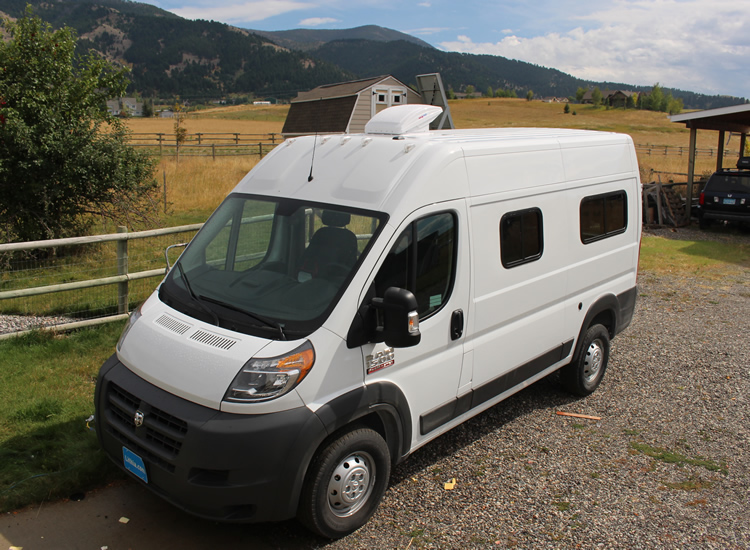 ProMasterr Camper Van Conversion