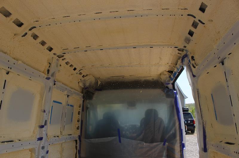Promaster Diy Camper Van Conversion Insulation