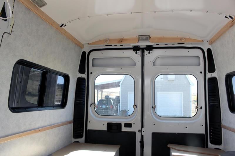 Promaster Diy Camper Van Conversion Paneling