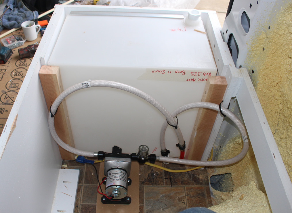 Water Tank Plumbing : Rv open roads forum travel trailers please help