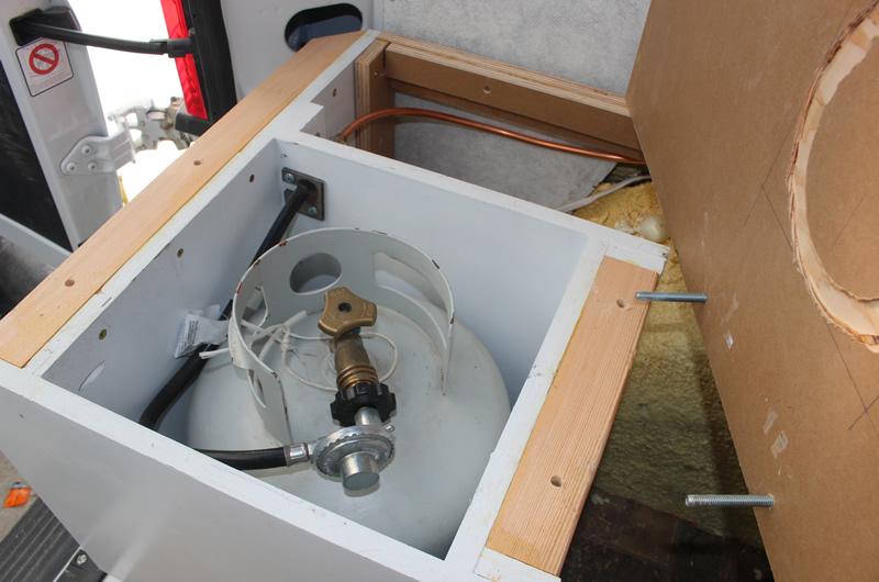 Promaster Diy Camper Van Conversion Diy Propane System