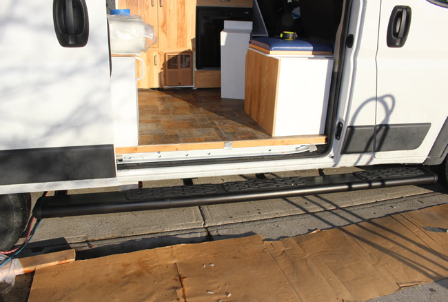 running  boards for ProMaster