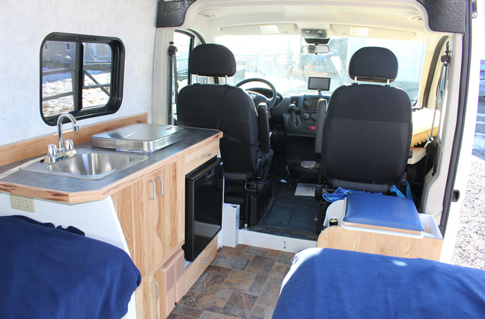 ProMaster Camper Van Conversion -- How Does it Work?
