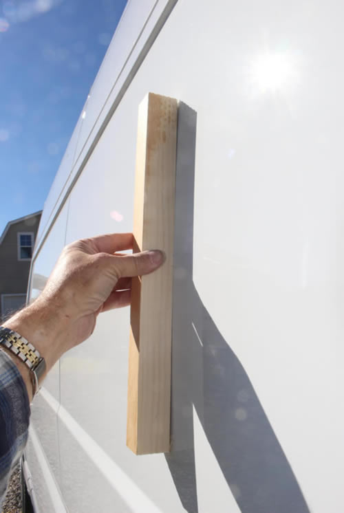 curvature of ProMaster sidewall