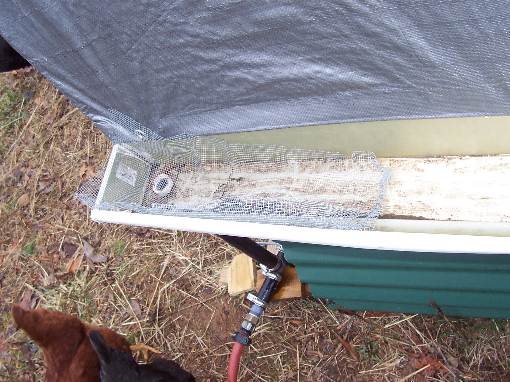 Portable Shelter And Water Catchment For Livestock