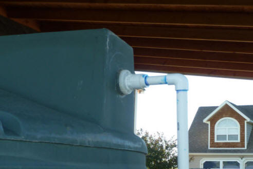 A Medium Sized Rain Water Collection System Overflow System