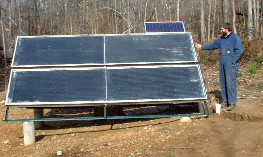 Doug S Diy Pv Pumped Solar Water Heating System