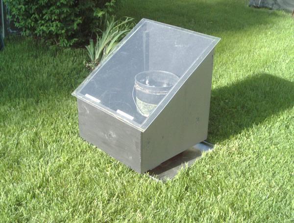 Very Simple Diy Quot Bucket Quot Solar Batch Water Heater