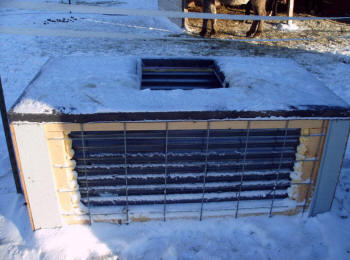 Solar Heated Horse Or Stock Watering Tank