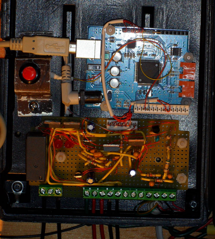 Diy Differential Controller Solar Hot Water Panel Pump In Housing Box