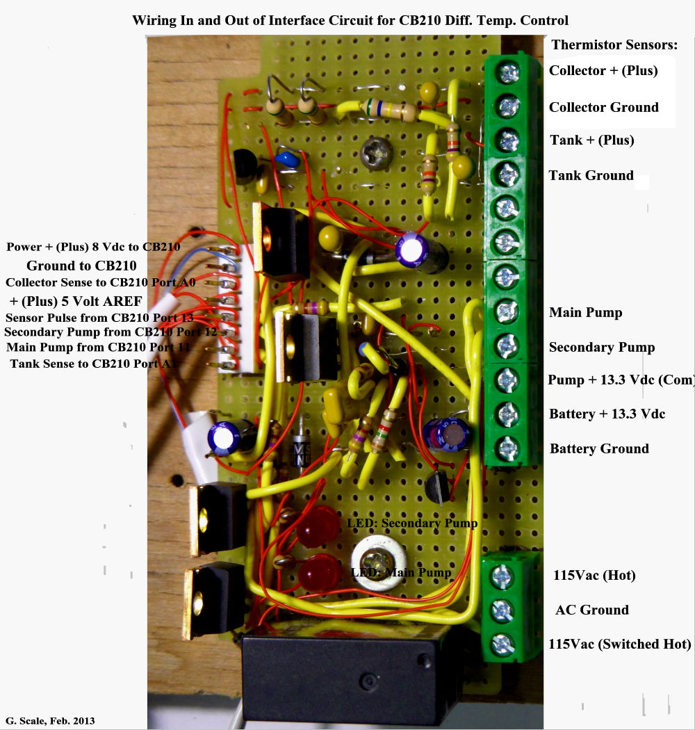 DIY Differential Controller - Differential relay wiring diagram
