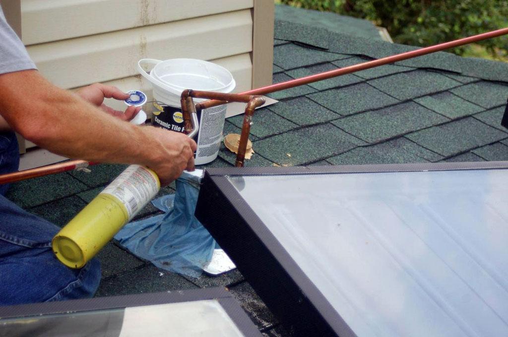 Matt's $1K Solar Water Heating System