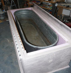 Construction Of Solar Heated Stock Tank