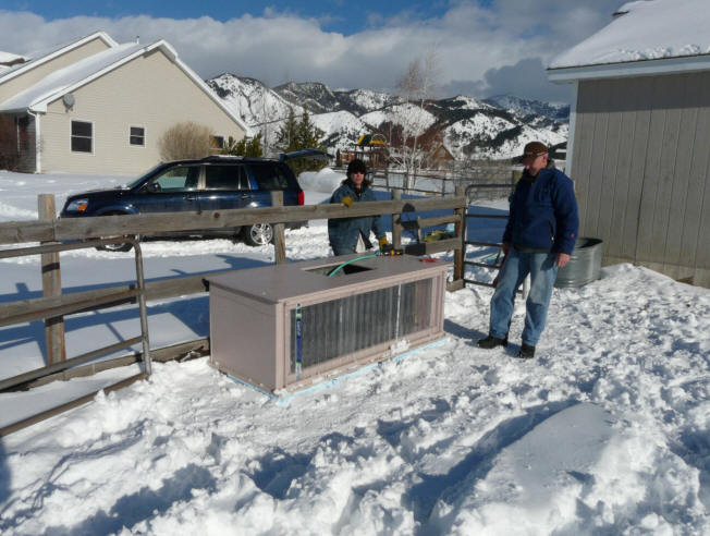 Solar Heated And Insulated Stock Tank