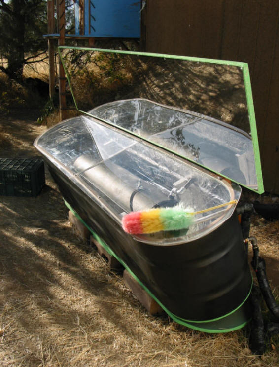 Diy Solar Batch Water Heater Made From Stock Tank