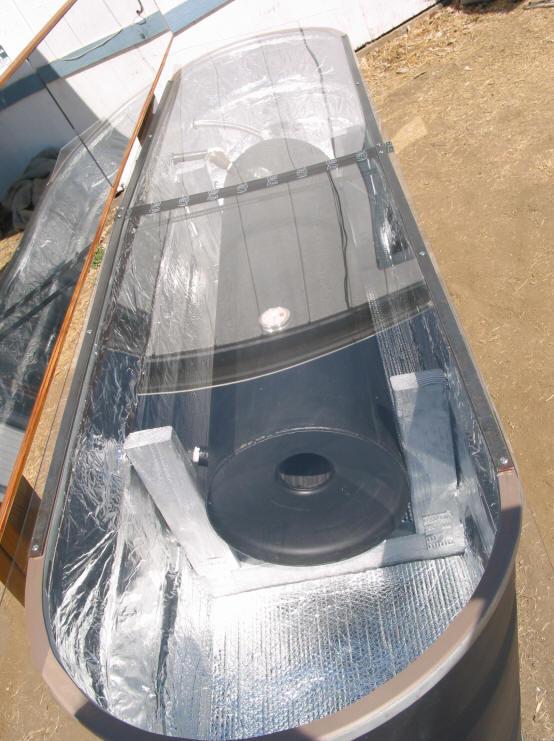Tree Energy Build Solar Stock Tank Heater