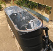 News info solar panel pool heater diy for How to make a pool out of a stock tank