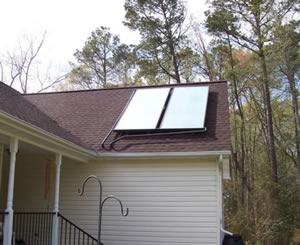 aet solar water heating collectors & Large DIY Solar Water Heating System in Virginia Using azcodes.com