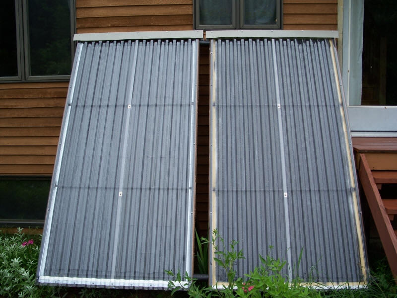 Woodsy S 1k Diy Solar Water Heating System