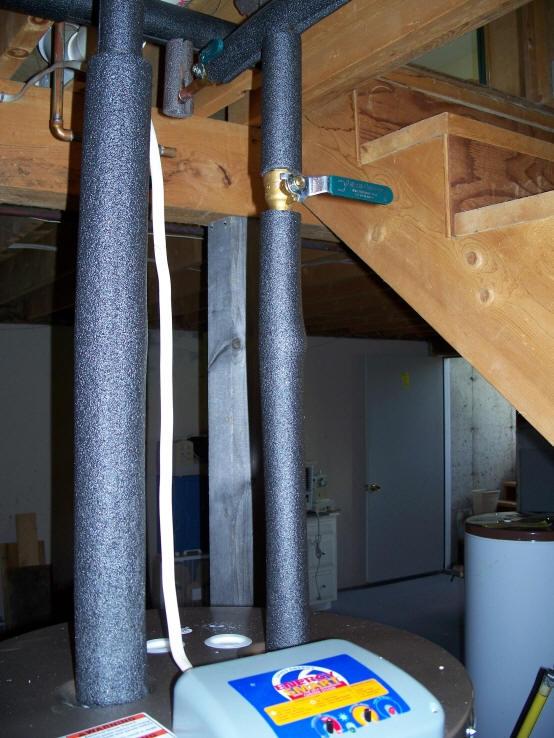 Woodsy's $1K DIY Solar Water Heating System