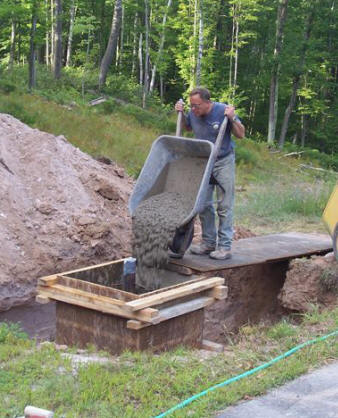Tom s wind turbine tower planning and footings